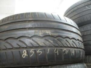 255/40R19 SINGLE ONLY USED DUNLOP