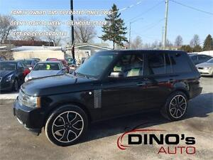 2011 Land Rover Range Rover SuperCharged | $199 Wkly $0 Dn *OAC