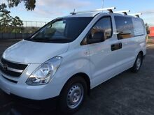 2010 Hyundai iLOAD TQ-V RWD White 5 Speed Automatic Van Carlingford The Hills District Preview