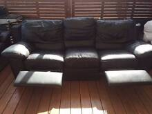 Genuine Leather Lounge Suite Kings Langley Blacktown Area Preview