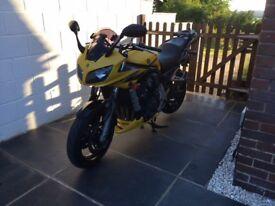 Yamaha FZS 1000 Yellow
