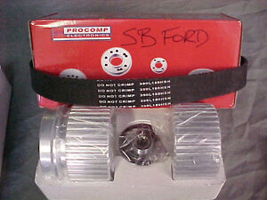 SB FORD 289 302 351W  GILMER BELT DRIVE PULLEY KIT London Ontario image 1