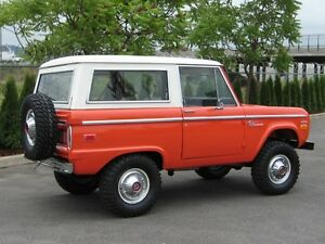 Early Ford Bronco 1966-1977