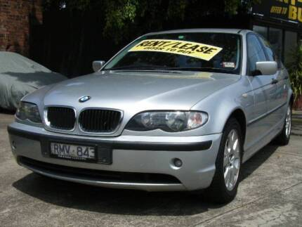 Rent to Buy / Rent to Own / Lease 2004 BMW 318i Sedan Cremorne Yarra Area Preview