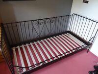 IKEA metal frame single bed (Sultan Luroy)