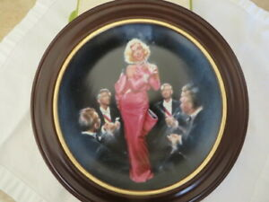 Marilyn Monroe Diamonds Are A Girls Best Friend Collector Plate