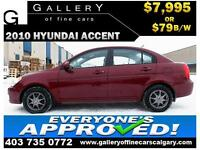 2010 Hyundai Accent GLS $79 BI-WEEKLY APPLY NOW DRIVE NOW