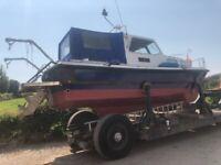 Duver 23 Motor Boat