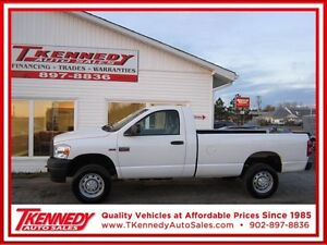 2009 Dodge Ram 2500 HD ST 4X4 $12,988.FINANCING AVAILABLE OAC