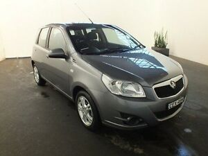 2012 Holden Barina TM TM Grey 6 Speed Automatic Hatchback Clemton Park Canterbury Area Preview