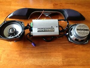 HOGTUNES 2 Channel Amp and Speakers