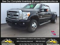 2014 Ford F350 Platinum Dually Diesel ~ Great Financing Rates