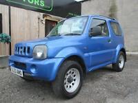 SUZUKI JIMNY 1.3 JLX (blue) 2003