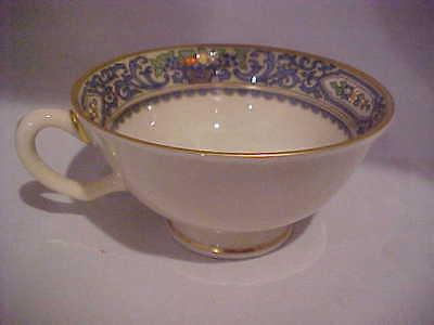 Lenox USA Autumn Pattern Floral Enamel China Porcelain Tea Cup Foot BEAUTIFUL   (Autumn Pattern)
