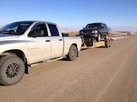 1/2 ton truck and trailer for moves