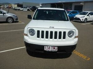 2013 Jeep Patriot MK MY14 Sport 4x2 White 6 Speed Sports Automatic Wagon Vincent Townsville City Preview