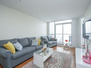 Newly Painted, Well-Kept 1+1 Bedroom Condo At 35 Hollywood Ave