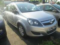 Vauxhall Zafira 1.7 TD ecoFLEX 16v Exclusiv 5dr Good / Bad Credit Car Finance (silver) 2013