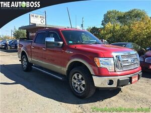2010 Ford F-150 Lariat CERTIFIED! 4x4! NAV! BACKUP CAM! LEATHER!