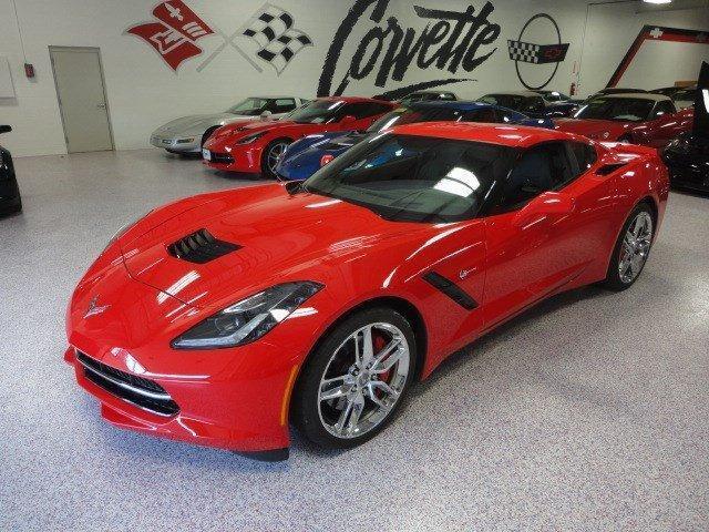 Imagen 1 de Chevrolet Corvette red