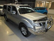 2012 Nissan Navara D40 S5 MY12 ST-X 550 Silver 7 Speed Sports Automatic Utility Maryville Newcastle Area Preview
