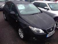 SEAT IBIZA 1.2 TDI CR Ecomotive S Copa 5dr (black) 2011