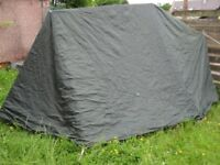 LICHFIELD CHALLENGER 5 TENT - INCLUDES INNER BEDROOM AND PORCH