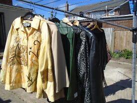 jackt leather / indigo moon /komono