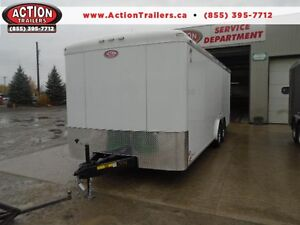 CHEAPER THAN USED PRICES -2016 ATLAS 8 X 20 ENCLOSED CARGO TRAIL