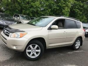2007 Toyota RAV4 Limited, PL,PW,AC,SUNROO 7-PASSENGER ,CERTIFIED