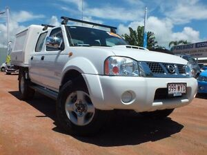2010 Nissan Navara D22 MY2010 ST-R Polar White 5 Speed Manual Utility Rosslea Townsville City Preview