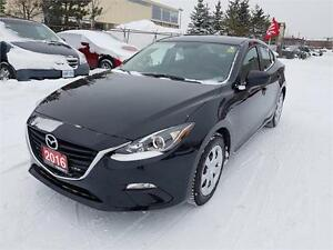 2016 Mazda3 GX Automatic Navigation CERTIFIED PRE-OWNED