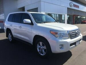 2014 Toyota Landcruiser VDJ200R MY13 VX (4x4) Crystal Pearl 6 Speed Automatic Wagon Sale Wellington Area Preview