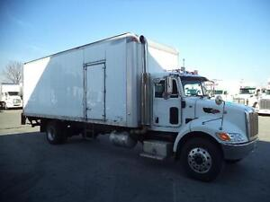 2011 Peterbilt 337 straight truck with 26' box and tailgate