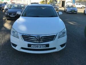 2010 Toyota Aurion GSV40R MY10 AT-X White Auto Sports Mode Sedan Penrith Penrith Area Preview