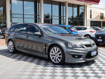 2010 Holden Special Vehicles Clubsport E Series 3 R8 Tourer Grey 6 Speed Sports Automatic Wagon
