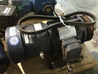 LEESON N182T17EB44 electric motor with brake