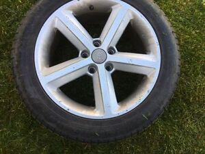225 50 R17 Audi Original Rims & Winter Tires