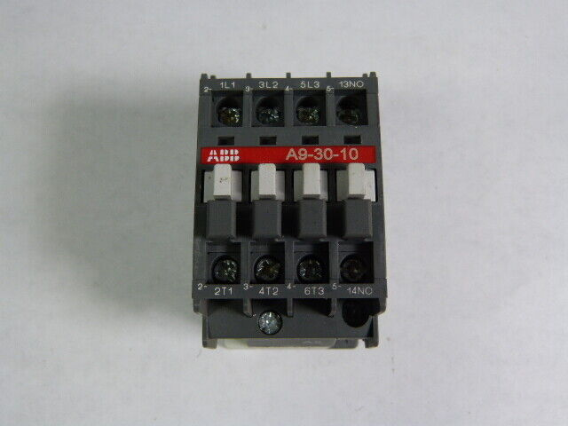 Asea Brown Boveri A9-30-10-84 Contactor 3Pole 50/60Hz 110/120V Coil  USED