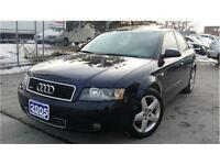 2005 Audi A4 1.8T quattro MINT COND - MUST BE SEEN! WE FINANCE