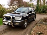 Toyota Landcruiser Amazon 4.7 V8 LPG. 7 seats