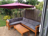 Handmade Garden Sofa set