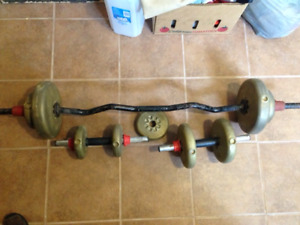 York Body Building Weights for Sale