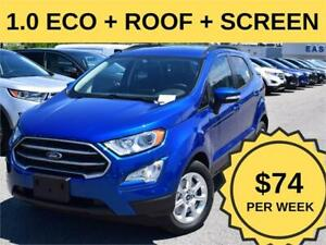 2019 Ford EcoSport SE| ROOF|TOUCH SCREEN|1L ECOBOOST|TRAILER TOW