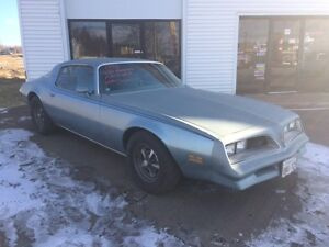 1978 PONTIAC FIREBIRD $5000