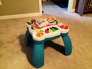 Leapfrog Learning and Activity Table
