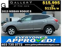 2013 Nissan Rogue S $119 bi-weekly APPLY NOW DRIVE NOW