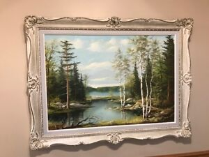 ORIGINAL VINTAGE OIL PAINTING BY LISTED CANADIAN ARTIST ERKKI JA