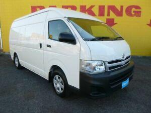 2011 Toyota HiAce KDH221R MY11 Super LWB White 4 Speed Automatic Van Winnellie Darwin City Preview