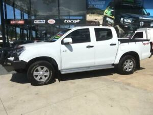 2013 Isuzu D-MAX TF MY12 LS-M HI-Ride (4x4) White 5 Speed Manual Crew Cab Utility Tuncurry Great Lakes Area Preview